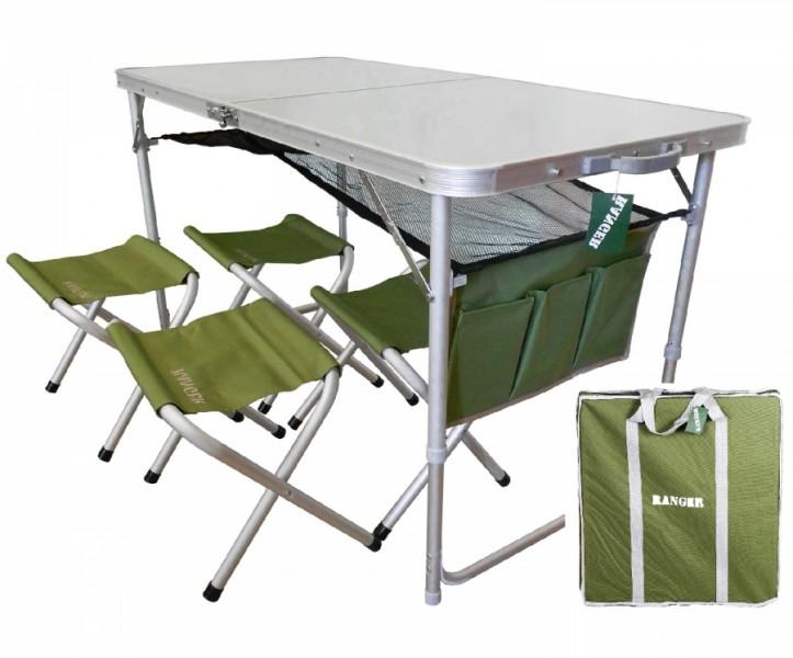 Стол+4 стульчика ТА 21407+FS21124