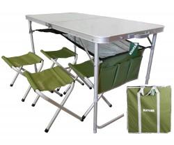 Стол+4 стульчика ТА21407+FS21124