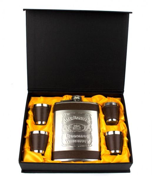 Подарочный набор с флягой Jack Daniel's