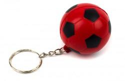 Брелок Футбольный мяч красный