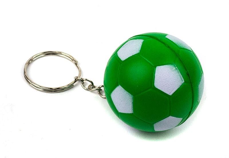 Брелок Футбольный мяч зеленый