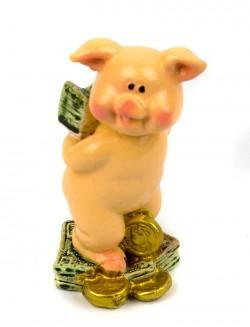 Статуэтка денежная Свинка