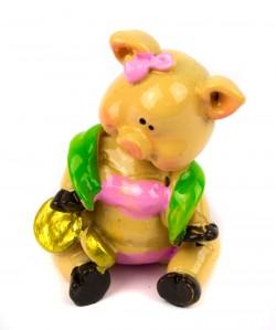 Статуэтка Свинка в купальнике