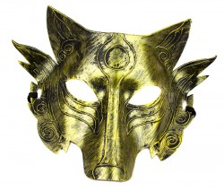 Маска Аматерасу золото