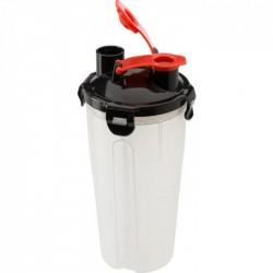 Шейкер пластиковый черный