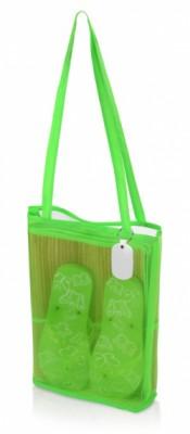 Пляжный набор Тропики с брелоком зеленый