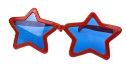 Очки гигант Звезда красные