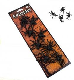 Набор пауки 8шт