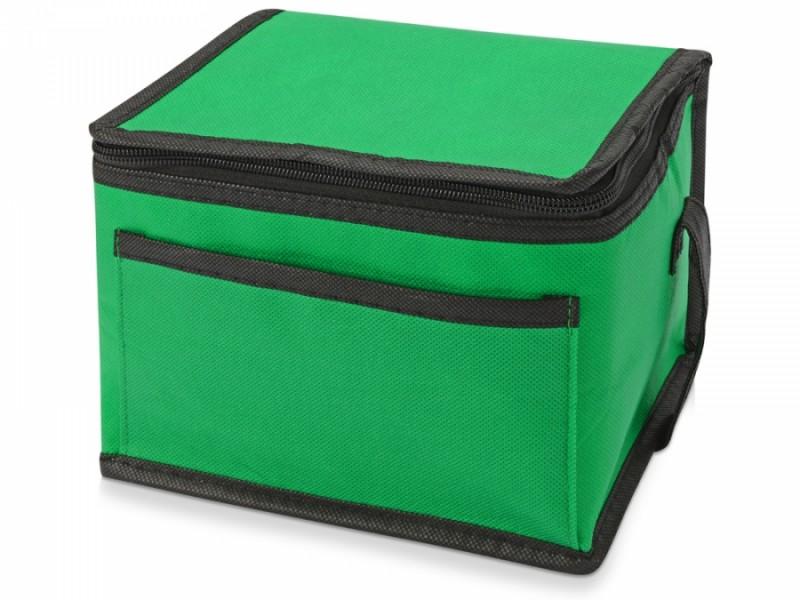 Сумка-холодильник Кубик зеленая