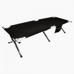 Кровать кемпинговая Highlander Aluminium Camp Bed w/pocket Black