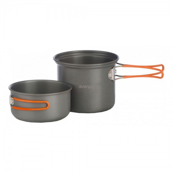 Набор посуды Vango Hard Anodised Cook Kit 2 Person Grey
