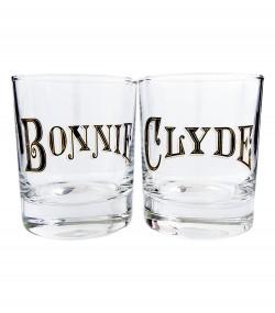 Набор для виски Bonnie и Clyde черный
