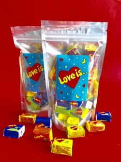 Жвачки Love is синий
