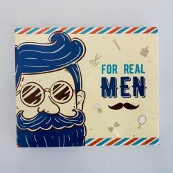 Шоколадный набор Big Real Men бежевый