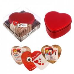 Шкатулка с наклейками Я тебя люблю в подарочной коробке