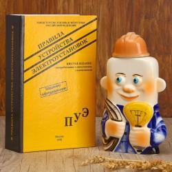 Штоф фарфоровый Электрик, в упаковке книге