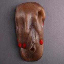 Фигурное мыло Шалунья, шоколадный 13 см / 300 г