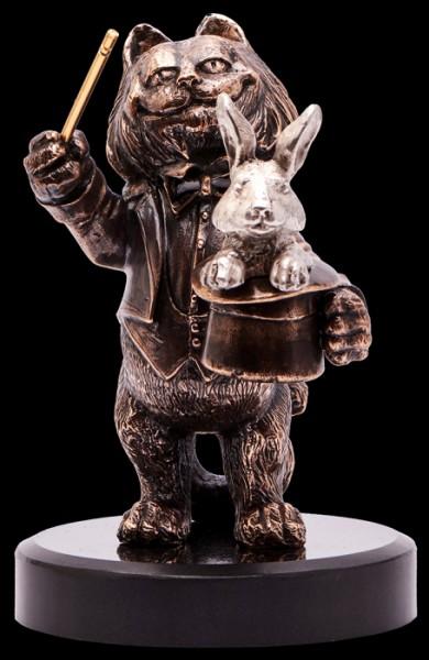 Статуэтка из бронзы Лови удачу