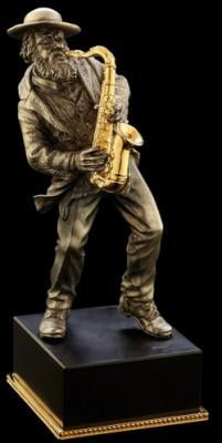 Скульптура Саксофонист
