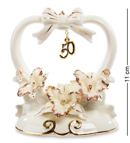Сувенир Золотая Свадьба Pavone