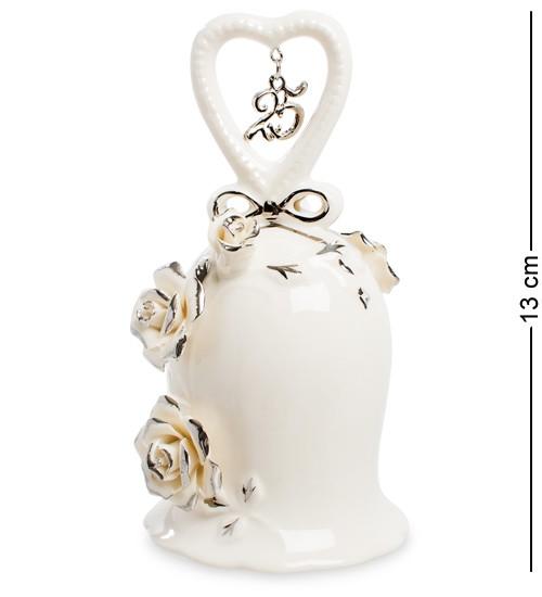 Колокольчик Серебряная Свадьба Pavone