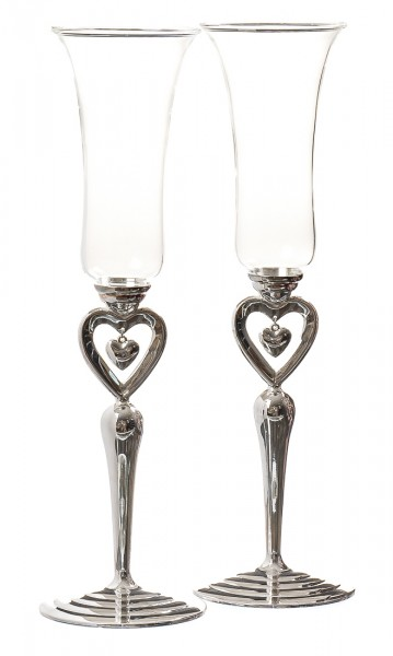 Свадебные бокалы Сердечки