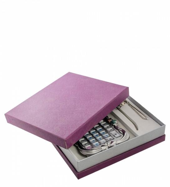 Подарочный набор, серебренный