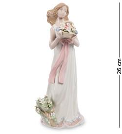 Фигурка Девушка с цветами Pavone