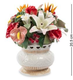 Композиция Ваза с цветами Pavone
