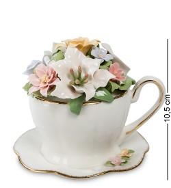 Муз. композиция Чашка с цветами Pavone