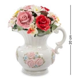 Муз. композиция Кувшин с цветами Pavone