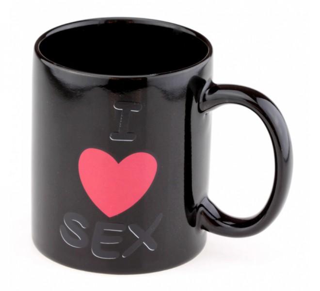 Чашка с терморисунком LOVE SEX