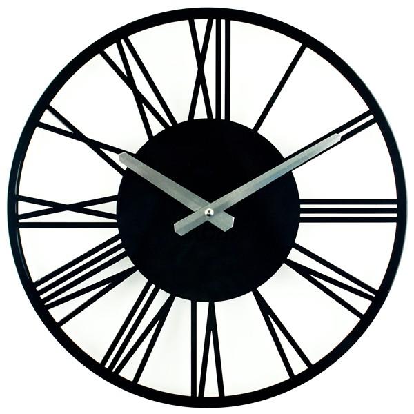 Настенные Часы Glozis Rome Black