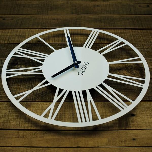 Настенные Часы Glozis Rome White