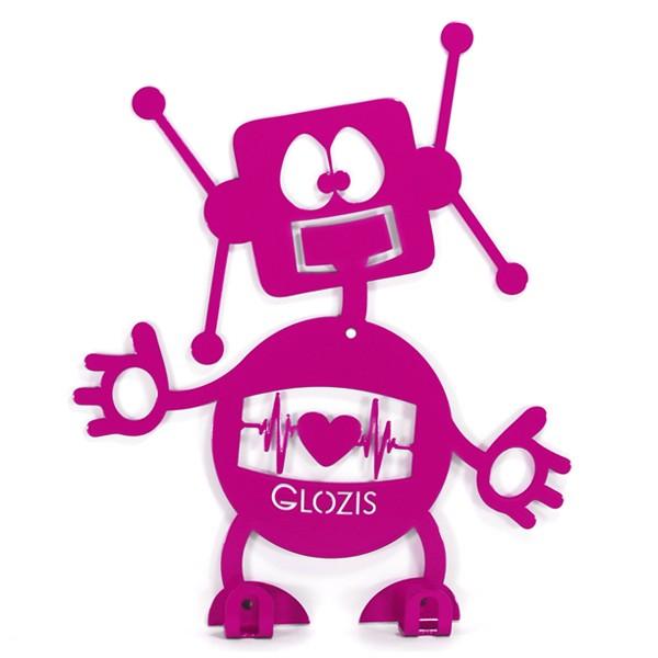 Настенная вешалка Детская Glozis Robot