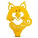 Настенная вешалка Glozis Kitty Yellow