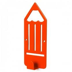 Вешалка настенная Glozis Pencil Orange