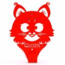 Настенная вешалка  Glozis Kitty Red