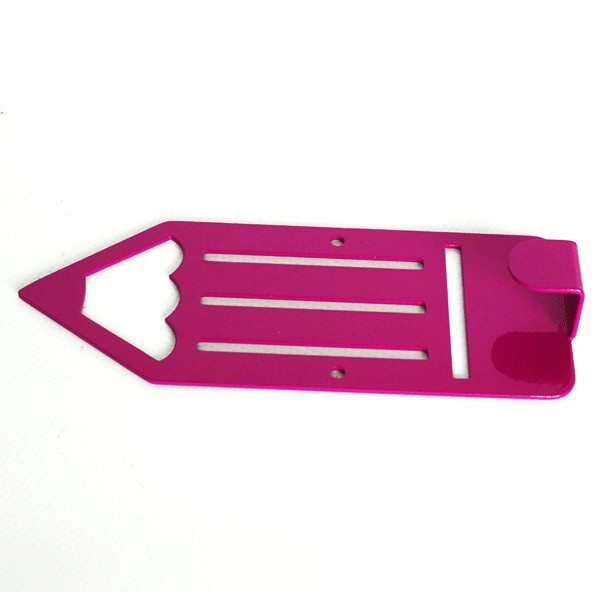 Вешалка настенная Glozis Pencil Purple