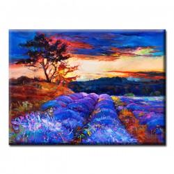 Картина на Холсте Glozis Lavender Valley