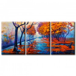 Модульная Картина Glozis Autumn Park