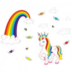 Наклейка Детская Unicorn