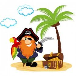 Наклейка Детская Pirate