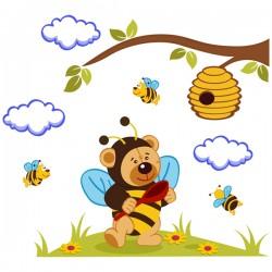 Наклейка Детская Winnie