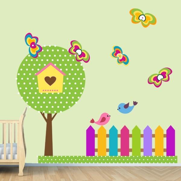 Наклейка Детская Garden