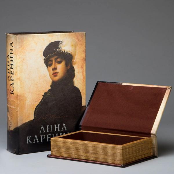 Набор книга-шкатулка Анна Каренина