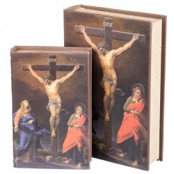 Набор книга-шкатулка Распятие Иисуса