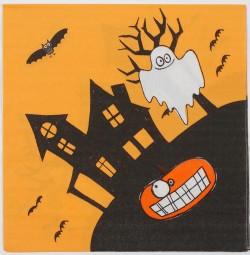 Салфетки бумажные Дом с привидениями