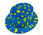 Карнавальная шляпа цилиндр с принтом