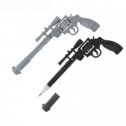 Ручка гелевая-прикол Револьвер